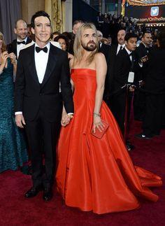 Oscar Switch - Justin Therous, Jennifer Aniston