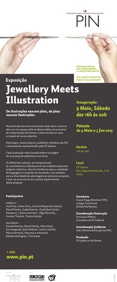 Jewellery meets Illustration - Ó! Galeria - Portugal - 9 mai-3 juin 2015