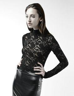 Black and White Photographer: Kaity Body Stylist: Carmen Tsang Model: Jenna M lace, leather Fashion Books, Leather Skirt, Black And White, Stylists, Lace, Skirts, Model, Design, Style