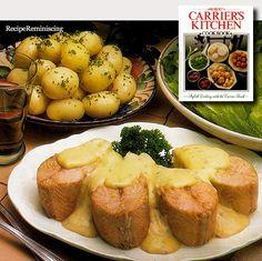 Darne de Saumon à la Béarnaise – Grilled Salmon Steaks Béarnaise / Grillede Laksesteker med Béarnaise