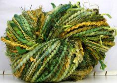 kittygirrlz  handspun art yarn