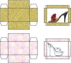 printable dollhouse shoes - j stam - Àlbums web de Picasa Doll Shoe Patterns, Box Patterns, Barbie Miniatures, Dollhouse Miniatures, Paper Dolls Clothing, Dollhouse Shoes, Diy And Crafts, Paper Crafts, Paper Doll House