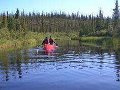 canoeing Deline Northwest Territories Canada