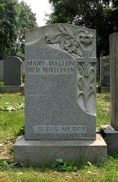 """Typhoid Mary"", St Raymond's Cemetery, Bronx, NY"