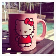Hello Kitty coffee cup ❤️