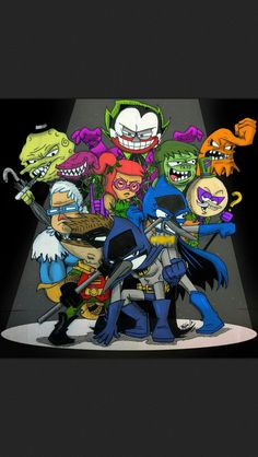 2 of my favorite things follow my batman&regular show board.