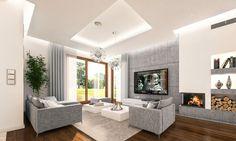 Projekt domu Tytan - wizualizacja wnętrza fot 2