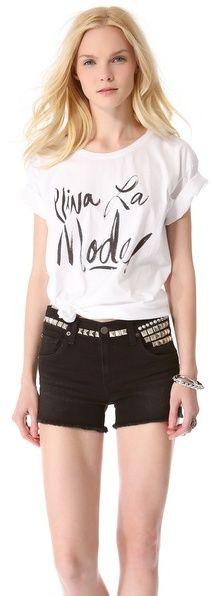 Sincerely Jules Viva La Moda Tee on shopstyle.com