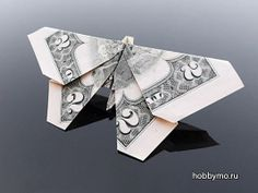 Фигурки оригами из денежных банкнот,оригами из купюр,оригами из банкнот,оригами из доллара,оригами из денег,оригами