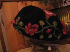 an old cap cot new embroiders