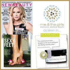 Me & The Girls featured in New Beauty Magazine's Summer/Fall 2014 Issue