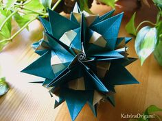Origami ɛ♥ɜ Forest Fairy ɛ♥ɜ Kusudama - Valentina Minayeva