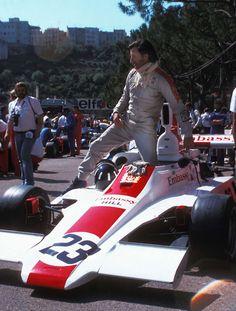 Graham Hill, Monaco 1975