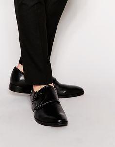 ALDO Berti Leather Monk Shoes