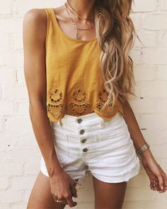 24 Best Casual Outfits for Teens 2019 Cute spring outfits! The post 24 Best Casual Outfits for Teens 2019 appeared first on Outfit Diy. Best Casual Outfits, Trendy Summer Outfits, Cute Spring Outfits, Cute Teen Outfits, Summer Fashion Outfits, Girl Outfits, Trendy Clothes For Teens, Shoes For Teens, Summer Outfits For Vacation