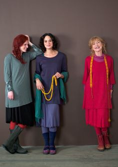 Comfy! Tunic in cotton & modal – Blouses & waistcoats – GUDRUN SJÖDÉN – Webshop, mail order and boutiques | Colourful clothes and home textiles in natural materials.