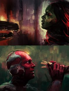 Infinity War fan art by Alice X. Zhang - Marvel & DC