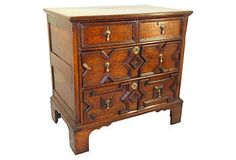 The Wild Side | English Bachelor's Chest, C. 1750 $5,900/3795
