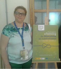 2014 Alejandra León (CEIP Lope de Vega) en II Encuentro eTwinning de maestros en castellano 'Enredando palabras'