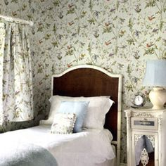 Cole & Son Humming Birds wallpaper and fabric!