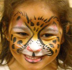 Cheetah   Linda Schrenk/Amazing Face Painting by Linda, Jacksonville FL