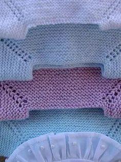 Discover thousands of images about tutorial para hacer jersey de bebé, baby cardigan Cardigan Bebe, Baby Cardigan, Crochet Cardigan, Knit Crochet, Crochet Vest Pattern, Baby Knitting Patterns, Baby Patterns, Diy Crafts Knitting, Knitting For Kids