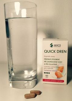 60tbl Quick Dren - přírodní přípravek bez chemikálií a vedlejších příznaků Léčba vodnatelnosti, celulitidy