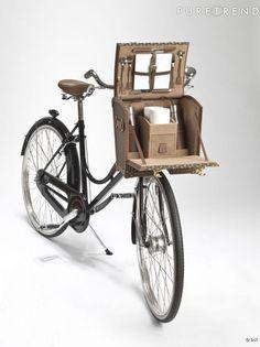 La malle bicyclette par Moynat.