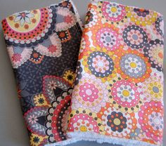 Baby Burp Cloths for baby girl  Silent Cinema by GiftsForBabies, $11.50