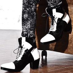 43f6fa86946e 【ALTER VENOMV オルターベノム】Glayze BOOTS†ヒールブーツ メンズ ブーツ エナメル 靴 ヒール レースアップ レッド  ホワイト zip ジップ V系 ファッション ...