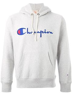 Shop Champion logo hoodie in Voo Store from the world's best independent boutiques at farfetch.com. Shop 300 boutiques at one address.