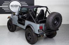 Custom Roll Cage of 1985 Jeep CJ7