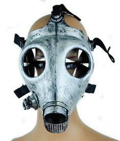 Design; In Black Devil Horns Rivets Gas Mask Respirator Cyber Goth Cosplay Spikes Masks For Party Halloween Accessories Novel