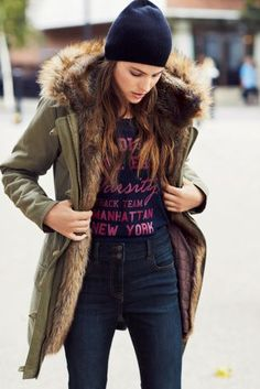 Buy Faux Fur Lined Parka from the Next UK online shop