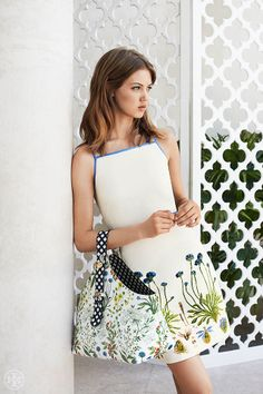 Botanical beauty | Tory Burch Summer 2014