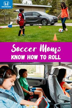 Soccer moms know how to roll. The all-new 2018 Odyssey features available Magic Slide™ seats that can be moved to make room for sporting equipment and all your little athletes.