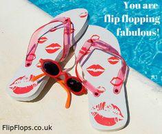 You are Flip Flopping Fabulous! Happy Summer, Summer Fun, Flip Flop Quotes, Flip Flop Sandals, Flip Flops, Beach Quotes, Summer Quotes, Beach Bum, Baby Beach