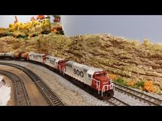 2015 N Scale Model Railroad Monthly Video Journal, September, 2016 - YouTube