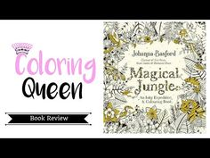 Magical Jungle Coloring Book Review Giveaway