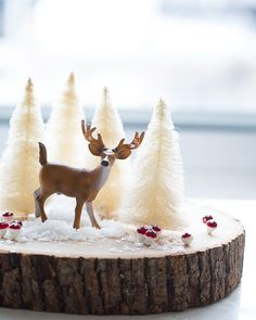 DIY Winter Wonderland Diorama - Sweet Paul 2014 Holiday Countdown Encontrado en sweetpaulmag.com
