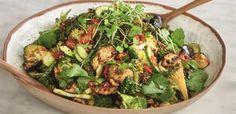 Ella Mills: Spicy Miso Aubergine and Broccoli salad Miso Eggplant, Eggplant Salad, Plant Based Cookbook, Plant Based Diet, Veg Recipes, Salad Recipes, Deliciously Ella Recipes, Broccoli Salad, New Cookbooks