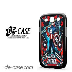 Marvel Pinball Captain America DEAL-6956 Samsung Phonecase Cover For Samsung Galaxy S3 / S3 Mini