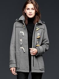 Wool toggle coat - Very cute. And it looks so comfortable!!