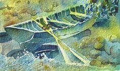 Watercolor - Doolee's Rowboat | Flickr - Photo Sharing!