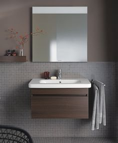 Duravit - Bathroom design series: DuraStyle - washbasins, toilets, bidets, tubs and bath furniture from Duravit.
