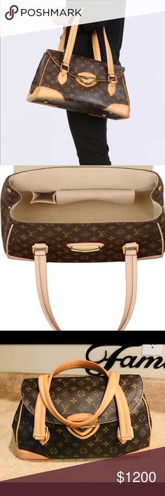 Authentic Louis Vuitton Beverly GM Authentic Beverly GM. Pre owned condition. Clean and light color. Trim is dryer and could use some good moisturizer like loving my bags etc. Your call. Feel free to ask questions. Louis Vuitton Bags Shoulder Bags