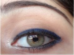 How To Apply Blue Eyeliner?