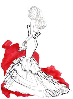 Amazing silhouette captured beautifully by simple lines. Illustrated by Inslee