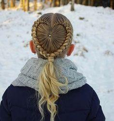 "1,115 Likes, 26 Comments - Little Girl Hairstyles (@braidsforlittlegirls) on Instagram: ""Love this adorable elastic style! Sister braids are so cute! credit @sheerbraidedbliss"""