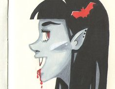 "Check out new work on my @Behance portfolio: ""Vampire"" http://be.net/gallery/58269571/Vampire"